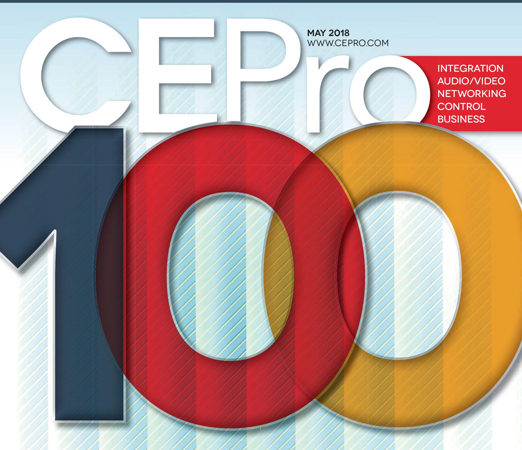 Lelch AV on CE Pro 19th Annual Top 100 List
